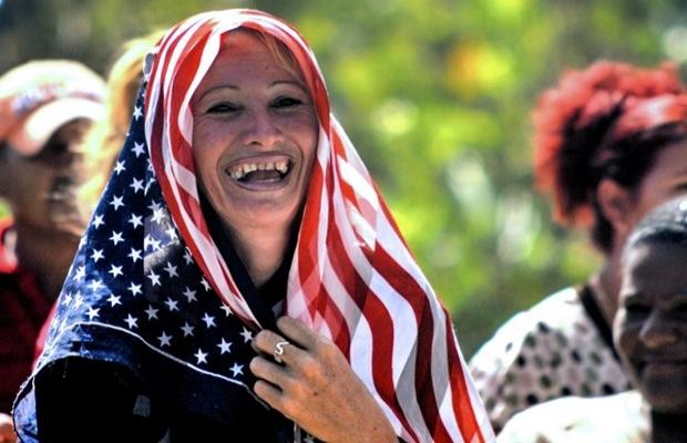 Küba'da ABD hayranlığı başladı   FOTO