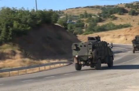 Tunceli'de yola döşenmiş 100 kilo bomba bulundu