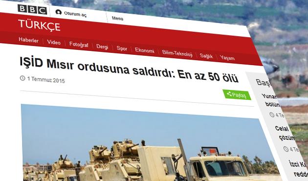 BBC'den IŞİD'de kısmî geri adım...