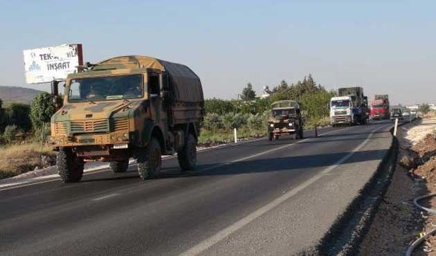 Ankara'dan Suriye sınırına askeri sevkiyat