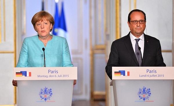 Merkel ve Hollande Yunanistan'a kapıları açık bıraktı