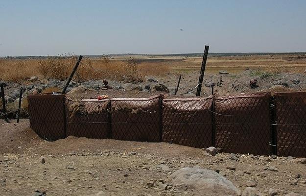 Kilis sınır hattında mevzi oluşturuldu