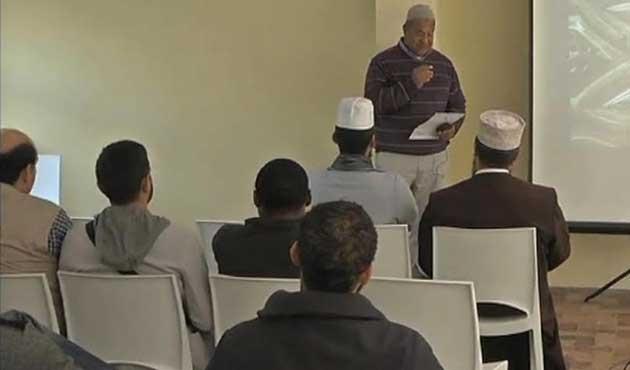 Güney Afrika'da camide tebliğ