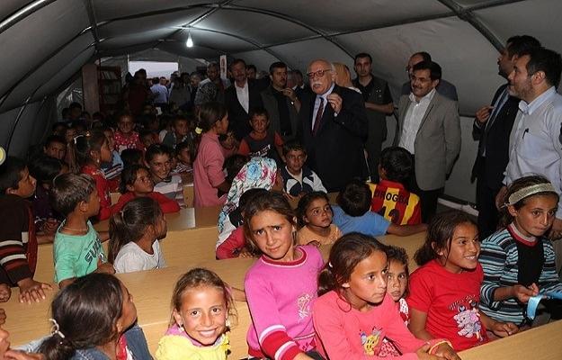 Türkiye'nin ilk Göç Okulu eğitime başladı