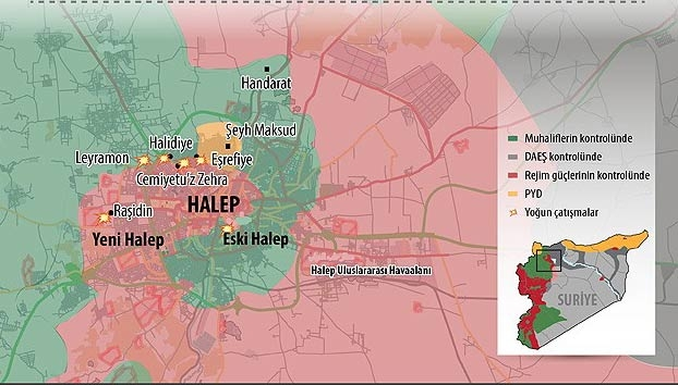 Halep'te intihar saldırısı