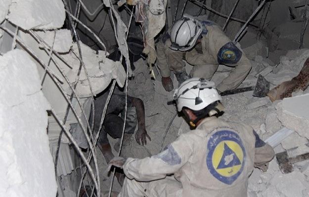 Halep'te iftar vaktinde varil bombalı saldırı