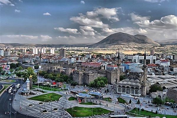 Sezarların şehri Kayseri