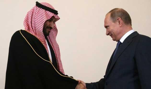 Suudi'lerden Rusya'ya 10 milyar dolar yatırım