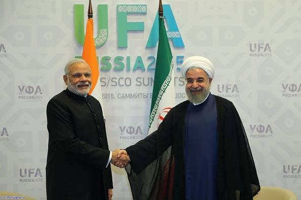 Ruhani ve Modi Ufa'da buluştu