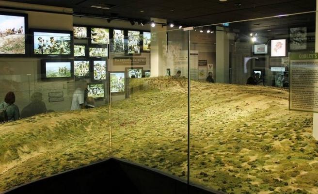 Çanakkale Savaşı'nın minyatürü yapıldı | FOTO