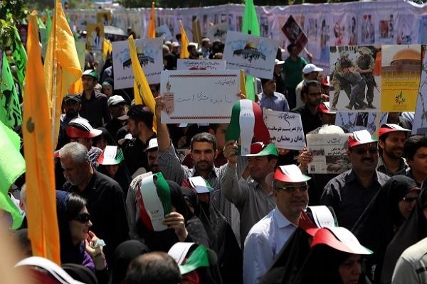 İran'da 'Dünya Kudüs Günü' etkinliği