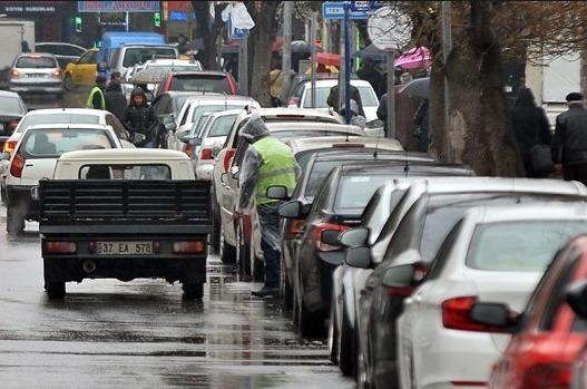 Ankara'da yol kenarı otoparklar ücretsiz olacak