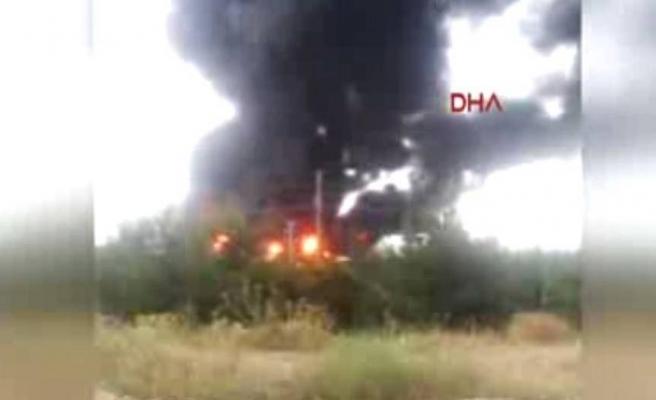 Isparta OSB'de yangın çıktı
