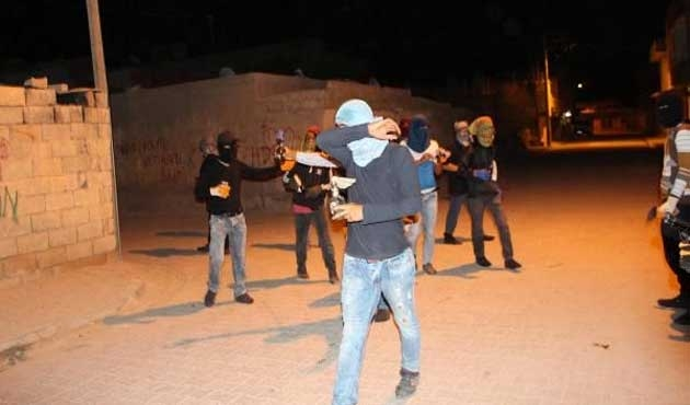 PKK'dan silahlı ve molotoflu eylem