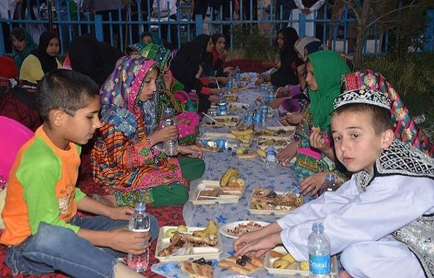 TİKA Afganistan'da 350 yetime iftar verdi