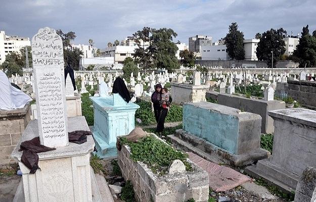 Müslüman mezarlığına Yahudi yerleşimi