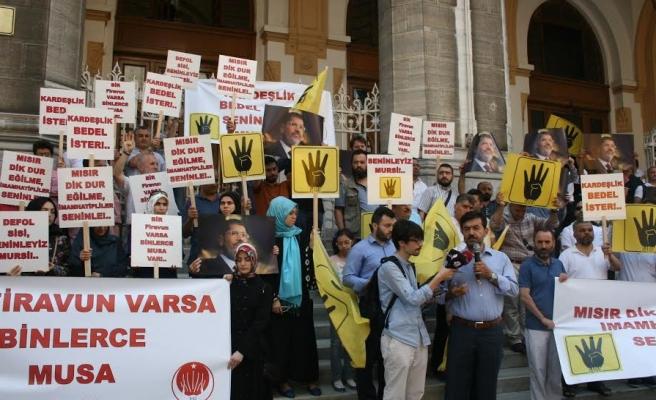 İmam Hatiplilerden Mısır protestosu