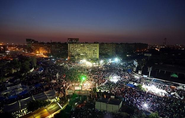 Direnişin sembolü Rabia Meydanı'nın adı değiştirildi