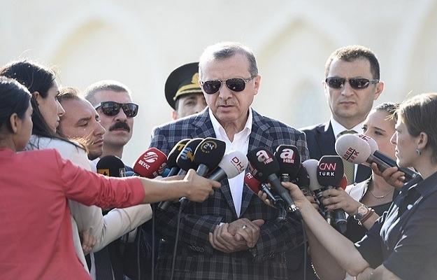 Erdoğan KKTC'de, vekalet Bostancı'da