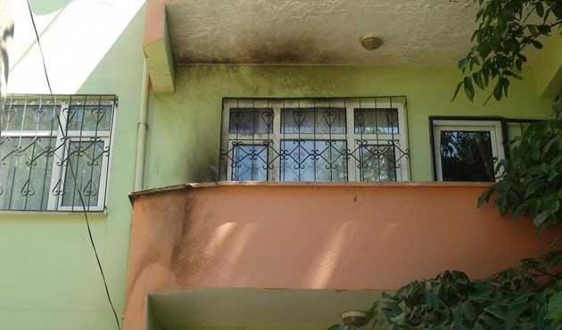 AK Partili meclis üyesinin evine molotoflu saldırı