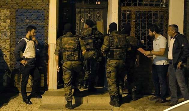 İstanbul'da üç ilçede PKK'ya operasyon