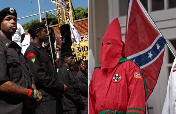 Ku Klux Klan'la Kara Panterler aynı safta