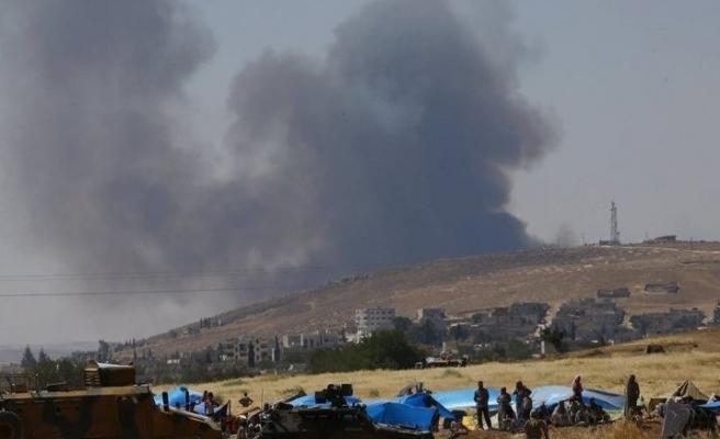 Kobani'de iki ayrı patlamada 5 YPG'li öldü