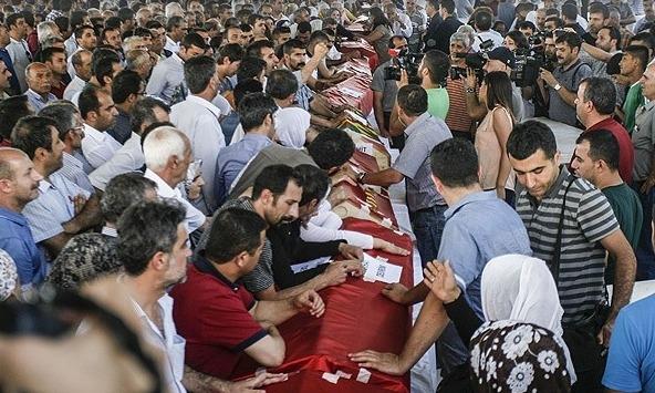 Suruç'taki cenazeler memleketlerine gönderildi