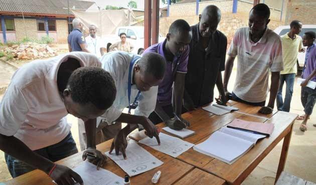 Burundi'de STK'lardan seçim protestosu