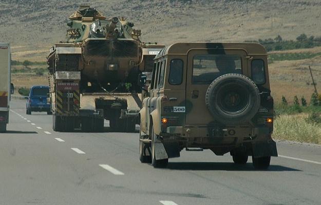 Suriye sınırında yeni askeri hareketlilik