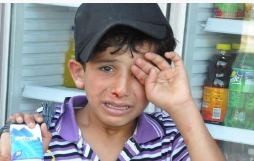 Suriyeli çocuğu döven esnafa suç duyurusu