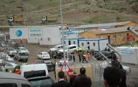 Siirt'te baraj inşaatında patlama