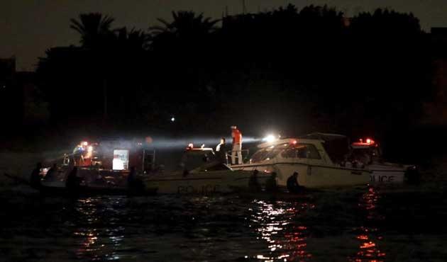 Nil Nehri'nde iki gemi çarpıştı; 15 ölü