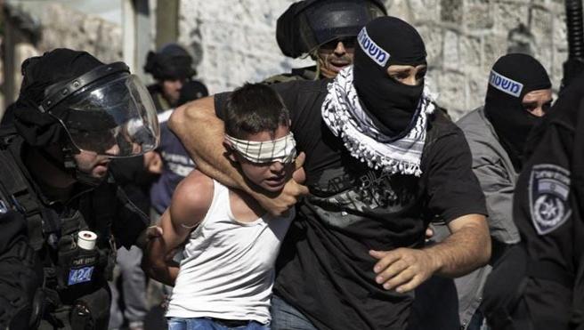 İsrail 8 yaşındaki çocuğu tutukladı