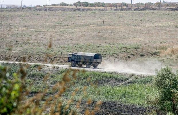 Karkamış sınır kapısında askeri hareketlilik