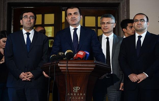AK Parti'den koalisyon görüşmesi için ilk açıklama