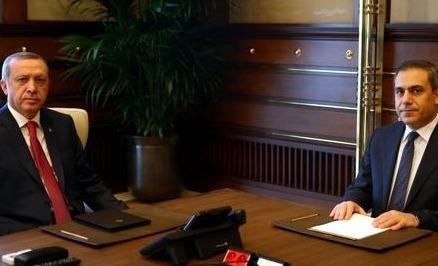 Erdoğan, İstanbul'da Hakan Fidan'la görüştü