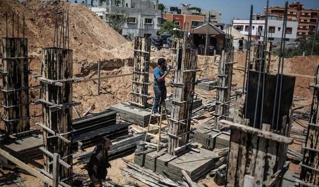 Gazze'de imar çalışmaları başladı