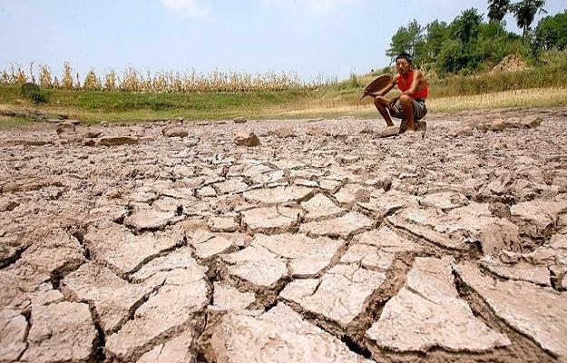 Çin'de susuzluk başgöstermeye başladı