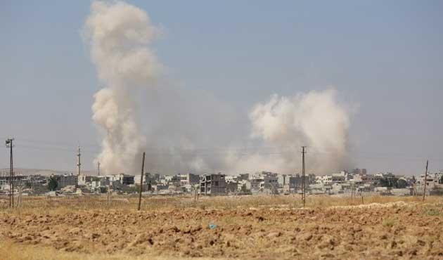Koalisyon güçlerinden IŞİD'e yoğun saldırılar