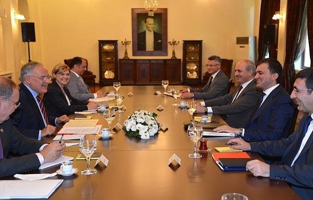 AK Parti ile CHP bugün yeniden bir araya gelecek