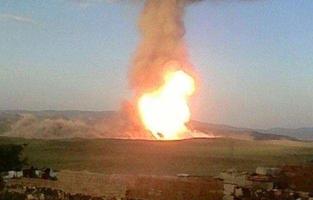PKK'dan Türkiye-İran doğalgaz boru hattına sabotaj