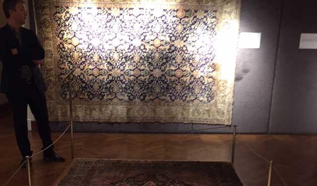 Osmanlı halı sanatının nabzı İzmir'de atıyor