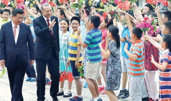 Erdoğan'ın Pekin ziyaretinde Uygurlar da konuşuldu