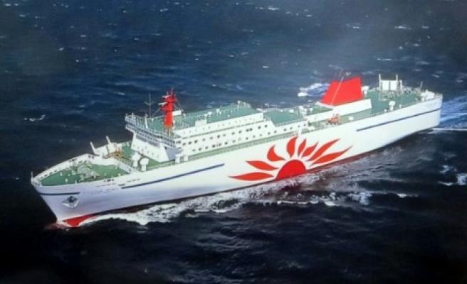 Japonya'da feribot yangını