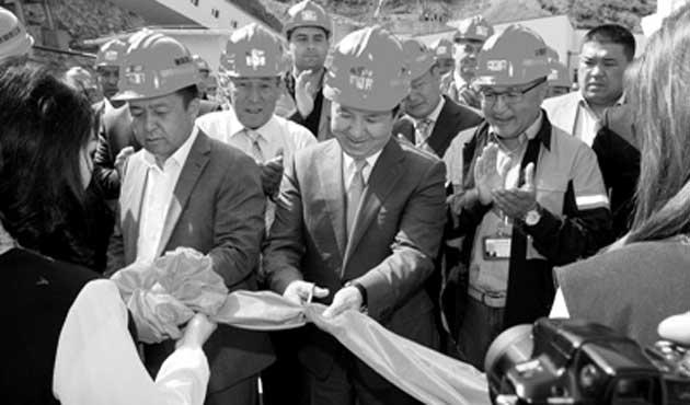 Kırgızistan'da Çin ortaklığıyla yeni altın madeni açıldı