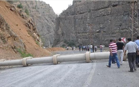 PKK  Çukurca-Hakkari bağlantısını kesti