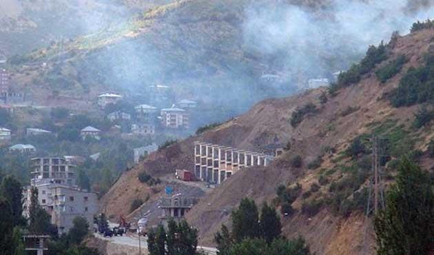 Şemdinli'de PKK'ya hava saldırısı