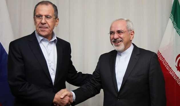 Lavrov, İranlı mevkidaşı Zarif ile görüştü
