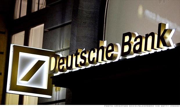 Alman 'Deutsche Bank'a ABD'den milyonlarca Dolar ceza